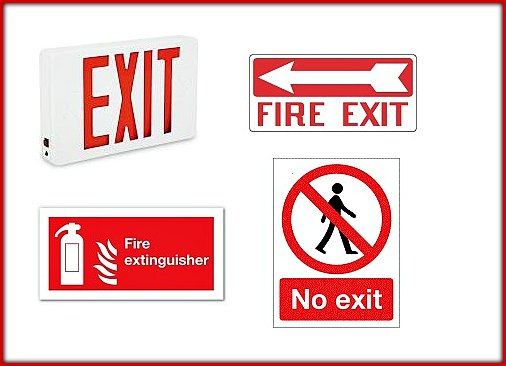 mid state fire exit signs orlando